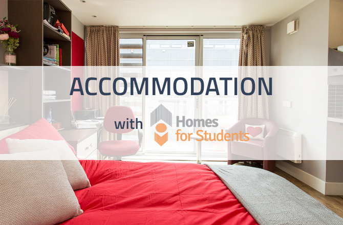 Scholarship Accommodation with Homes for Students