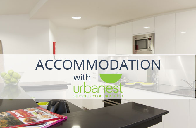 Scholarship Accommodation with urbanest